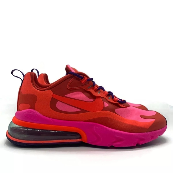 Nike Shoes Brand New Mens Air Max 270 React Mystic Red Bright Poshmark